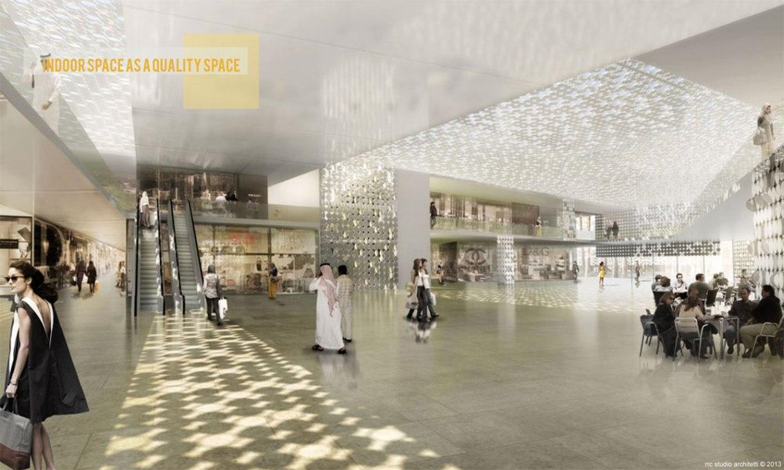 Al Dhakira commercial district © RRC STUDIO