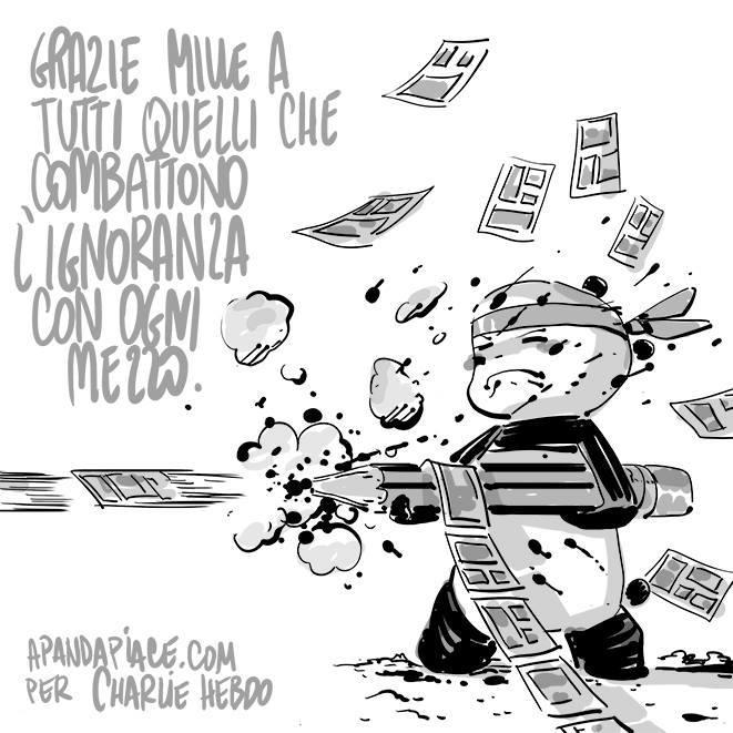 Giacomo Bevilacqua - Je suis Charlie