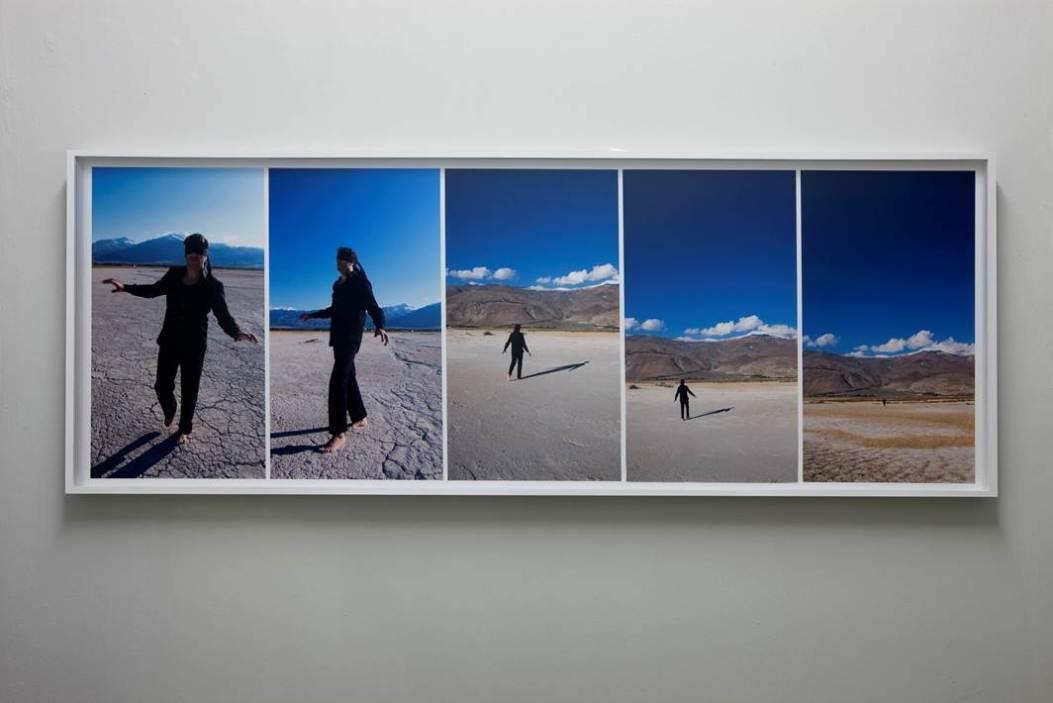 Kutlug Ataman Strange Space, 2009 Still Photography 77 x 208 cm, 70 x 39,38 cmm each, 5 parts Collezione privata Milano Courtesy Galleria Francesca Minini.