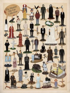 The Horror Die Cut Collection by Max Dalton