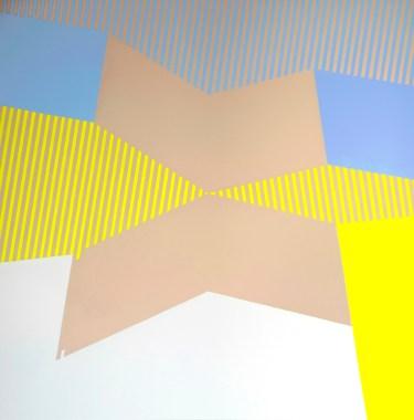 Windmill (acrilico su tela,80X80, 2014)