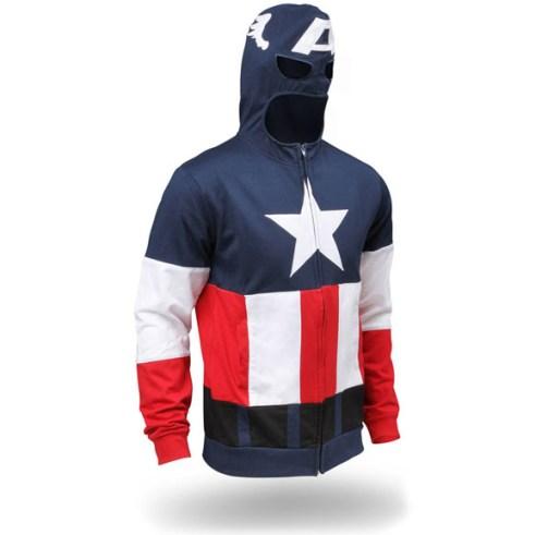 Captain America - Geek Hoodie