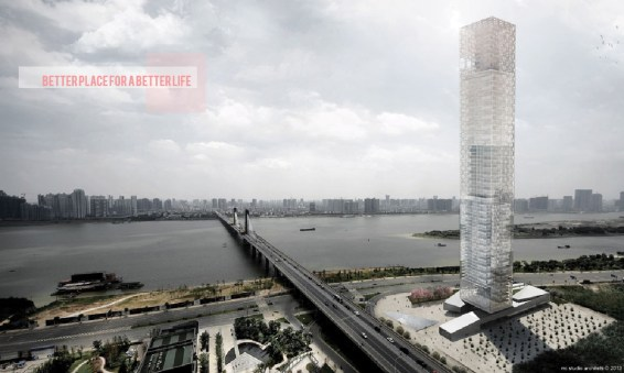Xiang River Tower a Changsha © RRC STUDIO