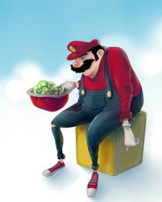 Mario by Vincent Nahuel Hachen