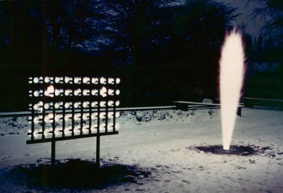 Yves Klein Monochrome und Feuer, Museum Haus Lange, Krefeld, Germania
