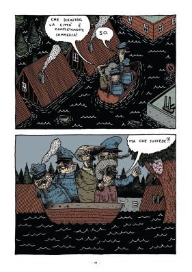 B comics • Fucilate a strisce: CRACK!