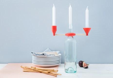 Tourdefork candelabra