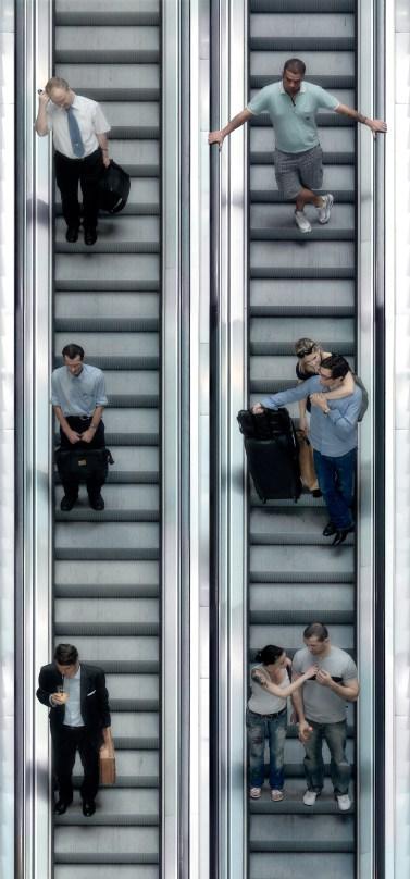 Escalators - Situ Art - J.Scriba
