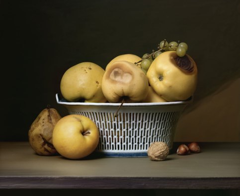 Sharon Core, Apples in a Porcelain Basket
