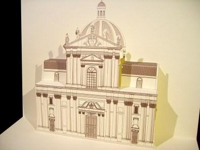 Card 3D Pop-up Kirigami |Duomo - Brescia