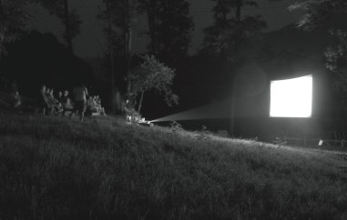 Youki Hirakawa - proiezione notturna