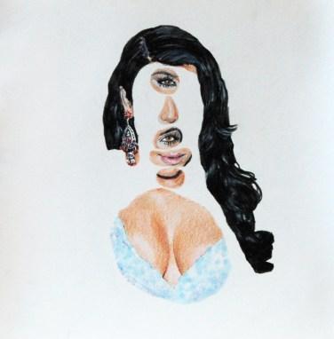 Eric Yahnker - Kim Kardashian Stack