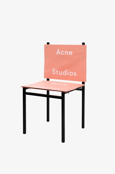 Simon Freund - shopping bag chair - Acne