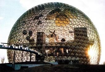 Buckminster Fuller, Biosfera di Montrea, 1967.