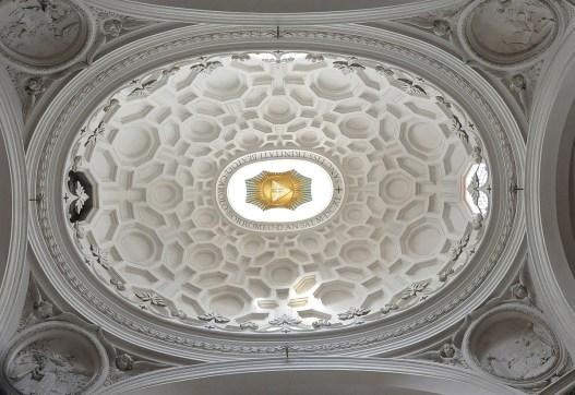 Francesco Borromini, Cupola della Chiesa di San Carlo alle Quattro Fontane, Roma, 1634-44. Ph. ellenbcutler.com