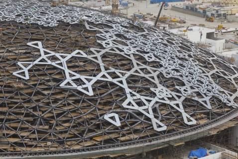 Louvre di Abu Dhabi, Jean Nouvel. Costruzione della cupola