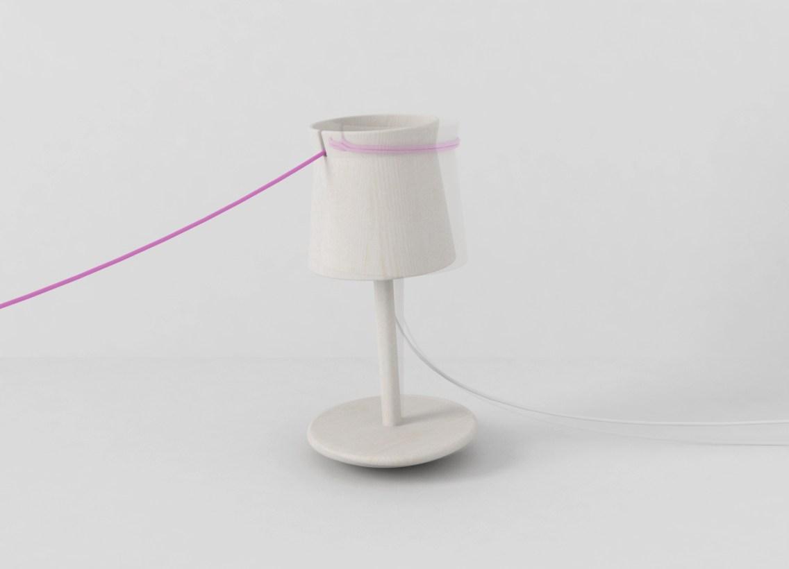 Lampada due giri © GinaDesign