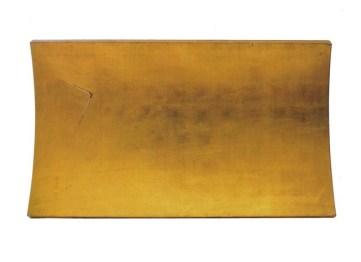 Arturo Vermi_Piattaforma_1974_foglia oro su legno_92x160cm_Courtesy Archivio Vermi e Leogalleries-Monza