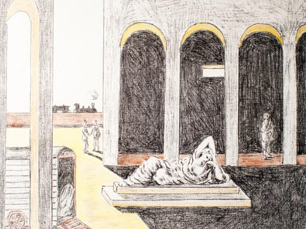 Giorgio de Chirico, Malinconia, 1972