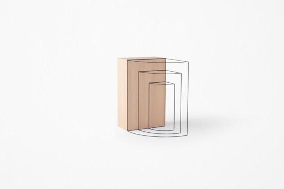 Trace container, Nendo Ph. Akihiro Yoshida
