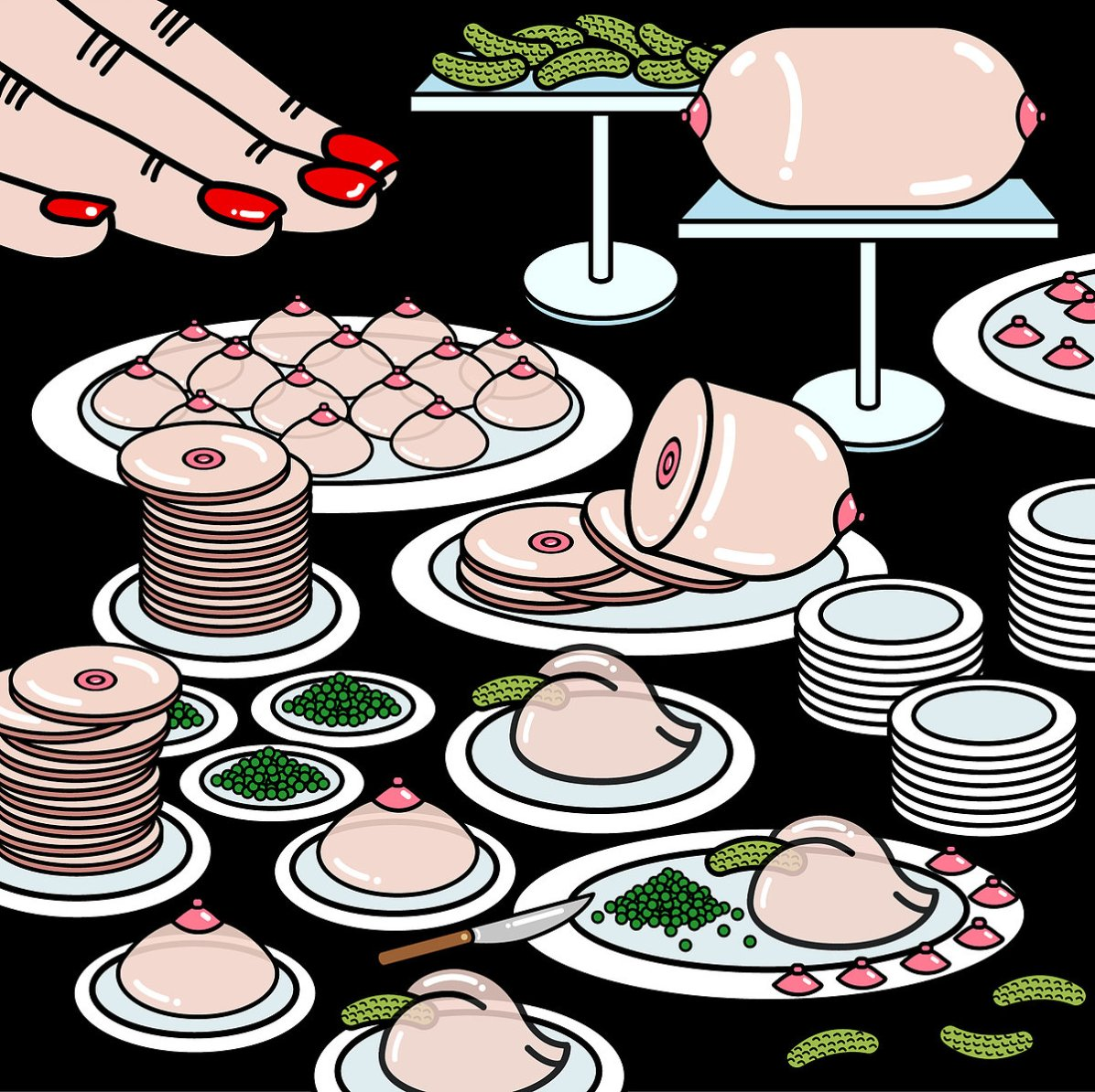 All-you-can-eat buffet will only fill your belly up until you are disgustingly full. It provides for your greed, not for your need