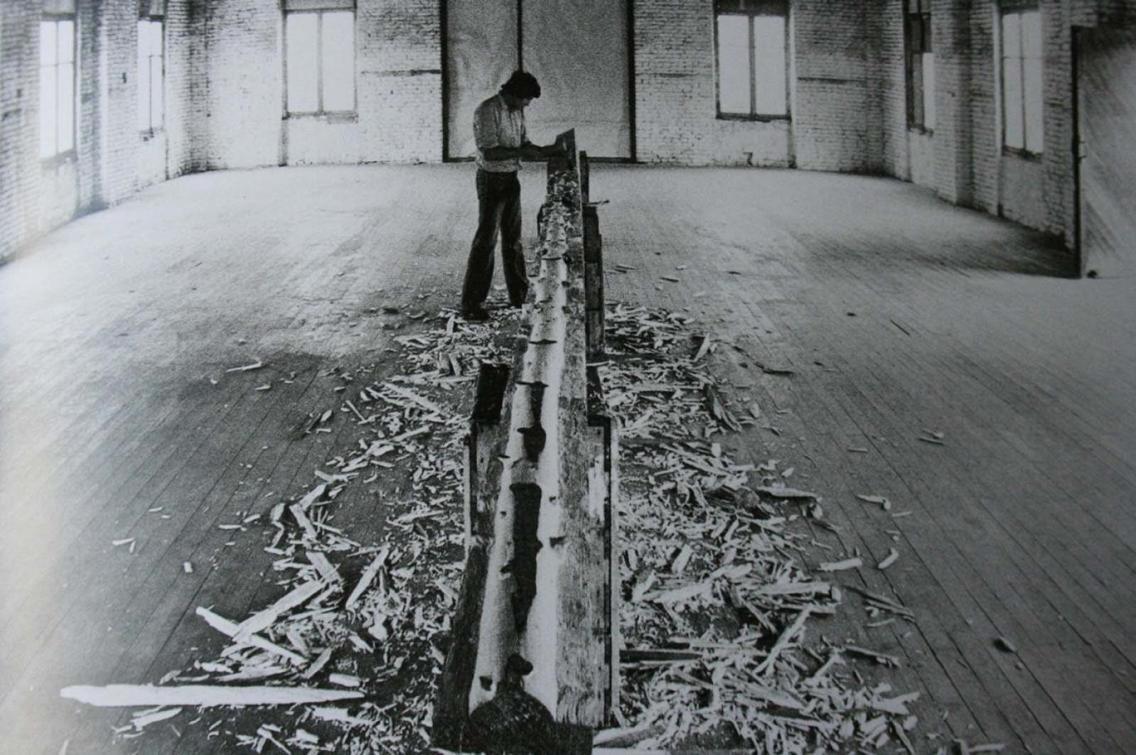 Albero di 12 metri. Giuseppe Penone