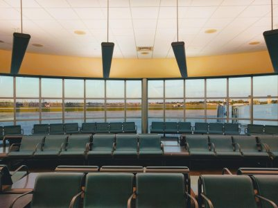 Airport waiting area - New Orleans