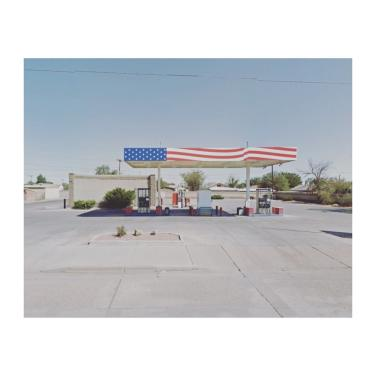 Service station in Winslow, Arizona, United States