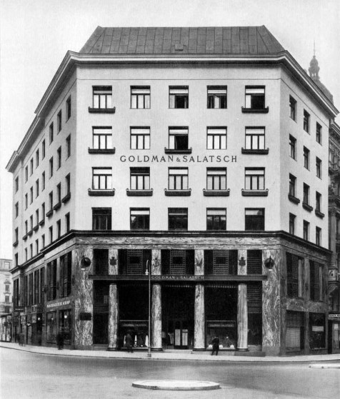 Michaelerplatz 3, Looshaus - A. Loos