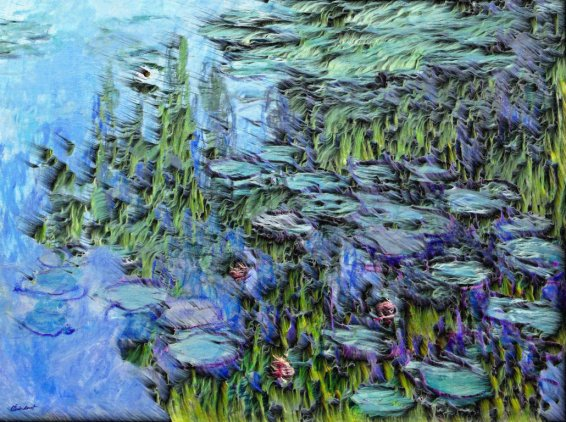 En-Plein Air // Water Lilies // Claude Monet – Matteo Mauro