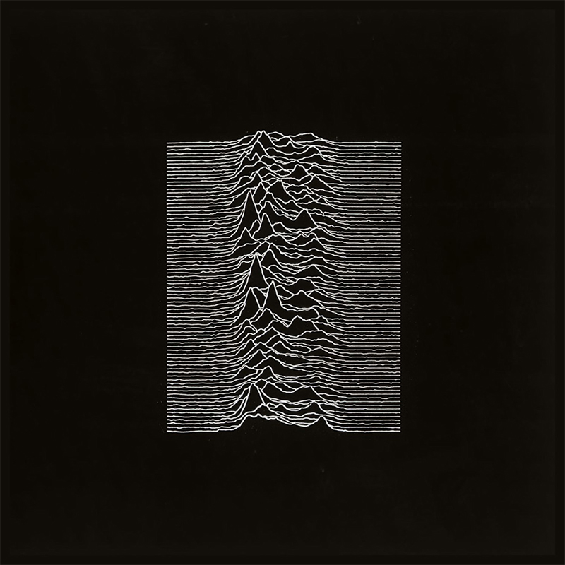 Unknown Pleasures – © Joy Division and Peter Saville