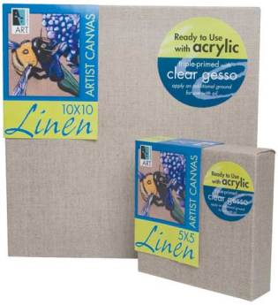 aa5843 linen stretched canvas