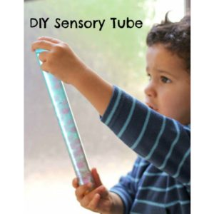 Arty Crafty Kids - Sensory - In the Playroom  Diy Sensory Tube