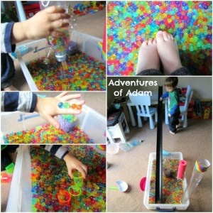 Arty Crafty Kids - Sensory - Ways to Play with Water Beads - Adventures of Adam