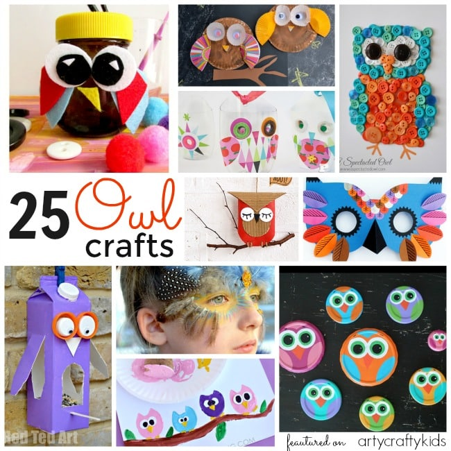 Good Owl Craft Ideas For Kids Part - 14: Arty Crafts Kids - Crafts - Craft Ideas For Kids - 25 Owl Crafts For Kids