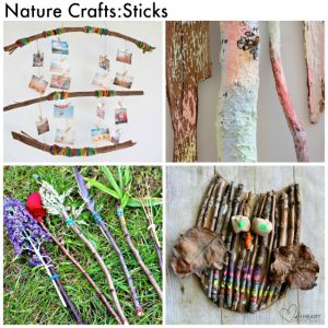 Arty Crafty Kids - Craft - Craft Ideas for Kids - Nature Craft for Kids