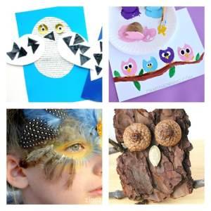 Arty Crafts Kids - Crafts - Craft Ideas for Kids - 25 Owl Crafts for Kids