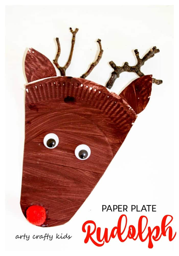 Arty Crafty Kids - Christmas - Paper Plate Rudolph  sc 1 st  Arty Crafty Kids & Paper Plate Rudolph Reindeer Craft - Arty Crafty Kids