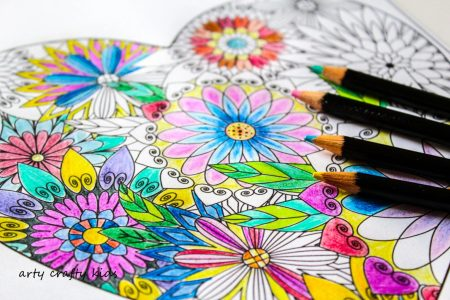 Arty Crafty Kids   Coloring Pages   Hearts