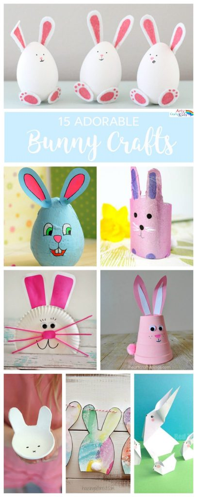 Super Adorable Bunny Crafts