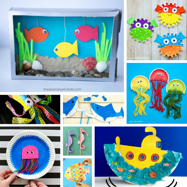Under The Sea Themed Arts And Crafts