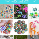 Creative Rock Crafts For Kids Arty Crafty Kids