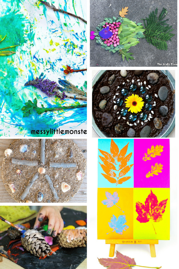 Arty Crafty Kids   Art   Bold Beautiful Nature Ideas Art for Kids   24 Stunning art nature art projects for kids!