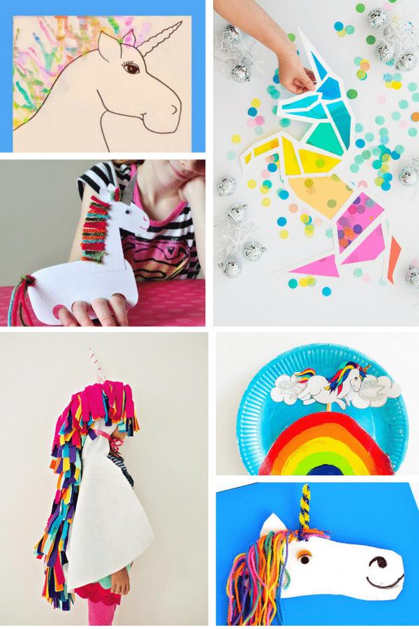 Arty Crafty Kids | Craft | 18 Super Cute Unicorn Crafts | 18 super cute Unicorn Crafts for kids