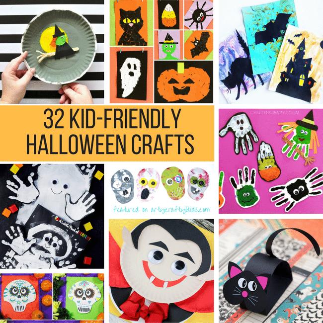 kid friendly halloween crafts