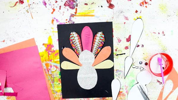 Arty Crafty Kids | Art | Design Your Own Paper Thanksgiving Turkey Craft