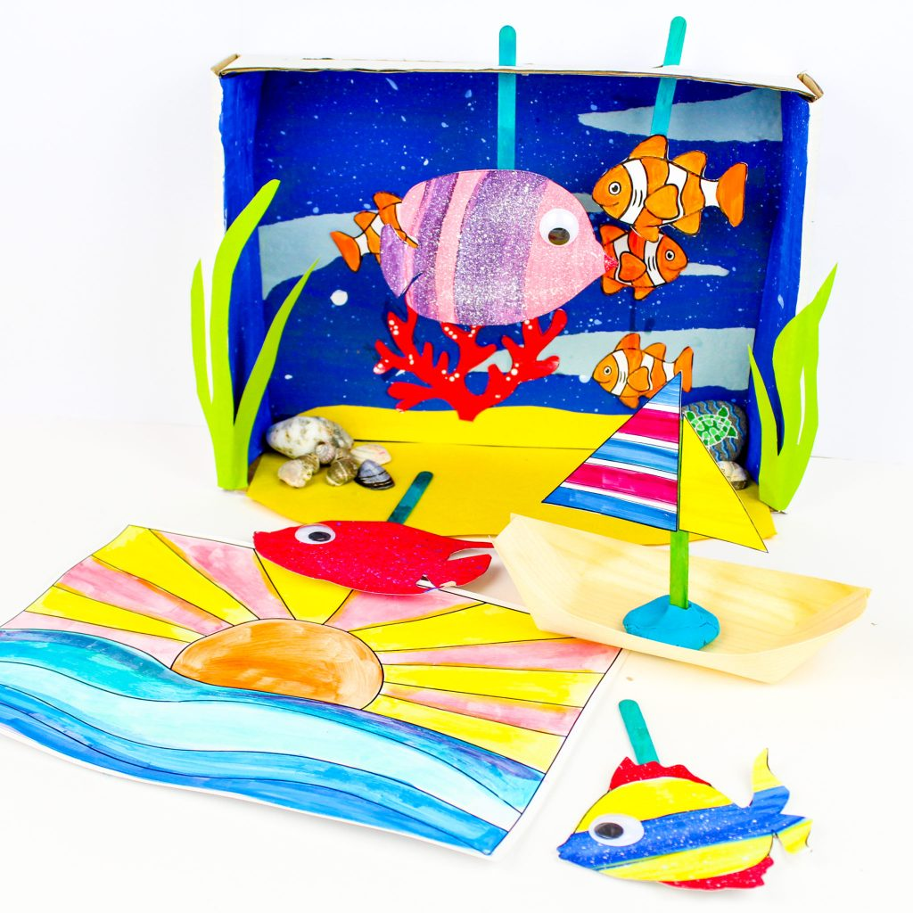 Arty Crafty Ocean Box