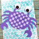 Arty Crafty Kids - Craft Ideas for Kids - Easy Woven Crab Craft for Kids - Super Cute crab weaving craft that kids will adore, while giving their hands a little fine motor work out during the creative process. Great a craft for an under the sea themed topic #kidscraft #undertheseacraft #craftsforkids #easykidscrafts