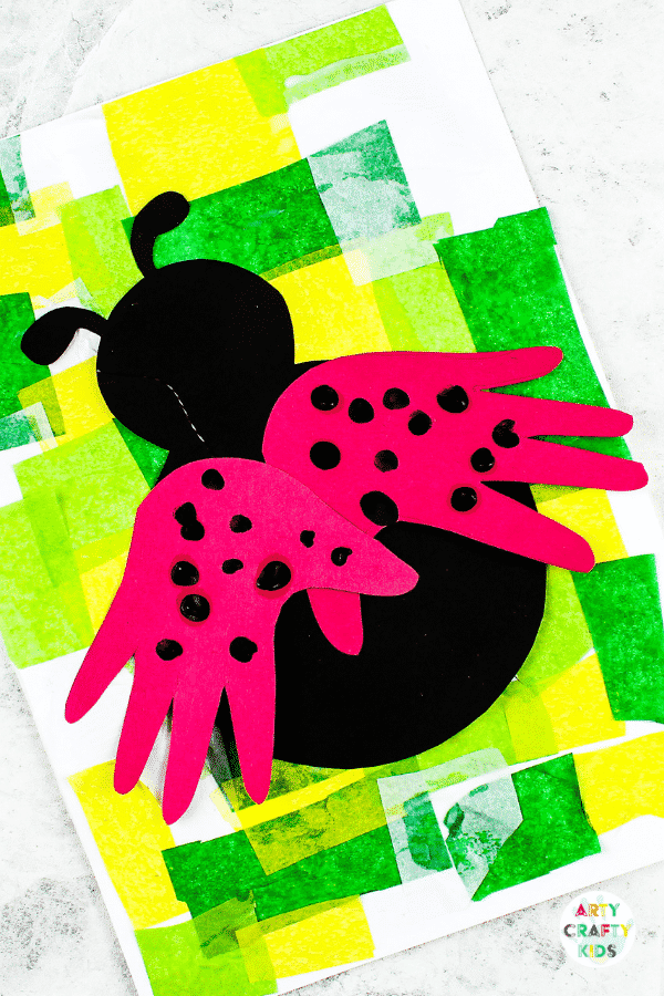 If you are hunting for some great ladybug crafts for preschoolers or toddlers, we have some interesting and easy ideas that your kids can try! Handprint Ladybug Craft Arty Crafty Kids