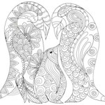 Arty Crafty Kids | Penguin Family Coloring Page